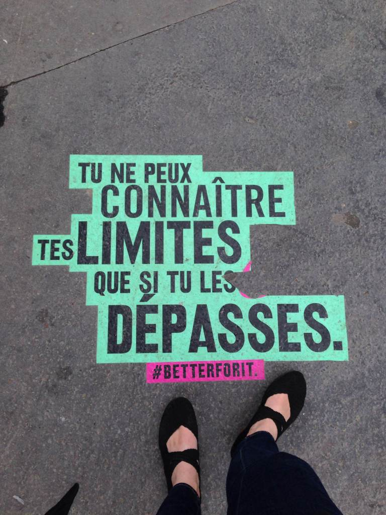 A bit of street advertising near Parc Monceau that I (the sucker I am) found cool.