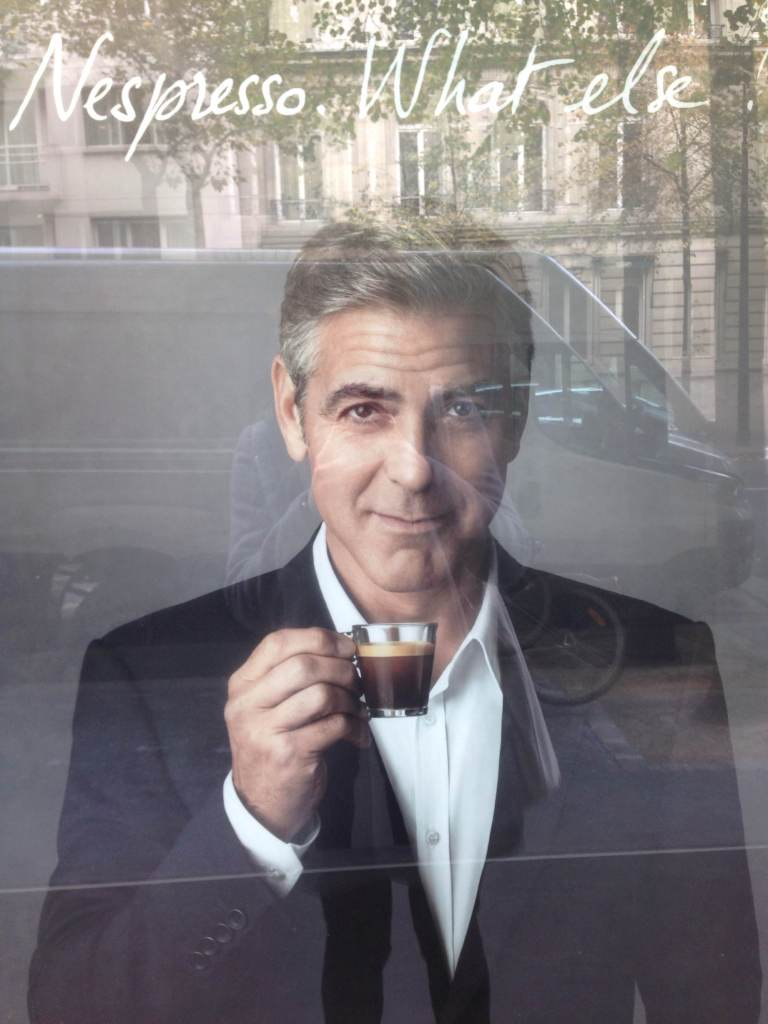 This is just an add with George Clooney in it.