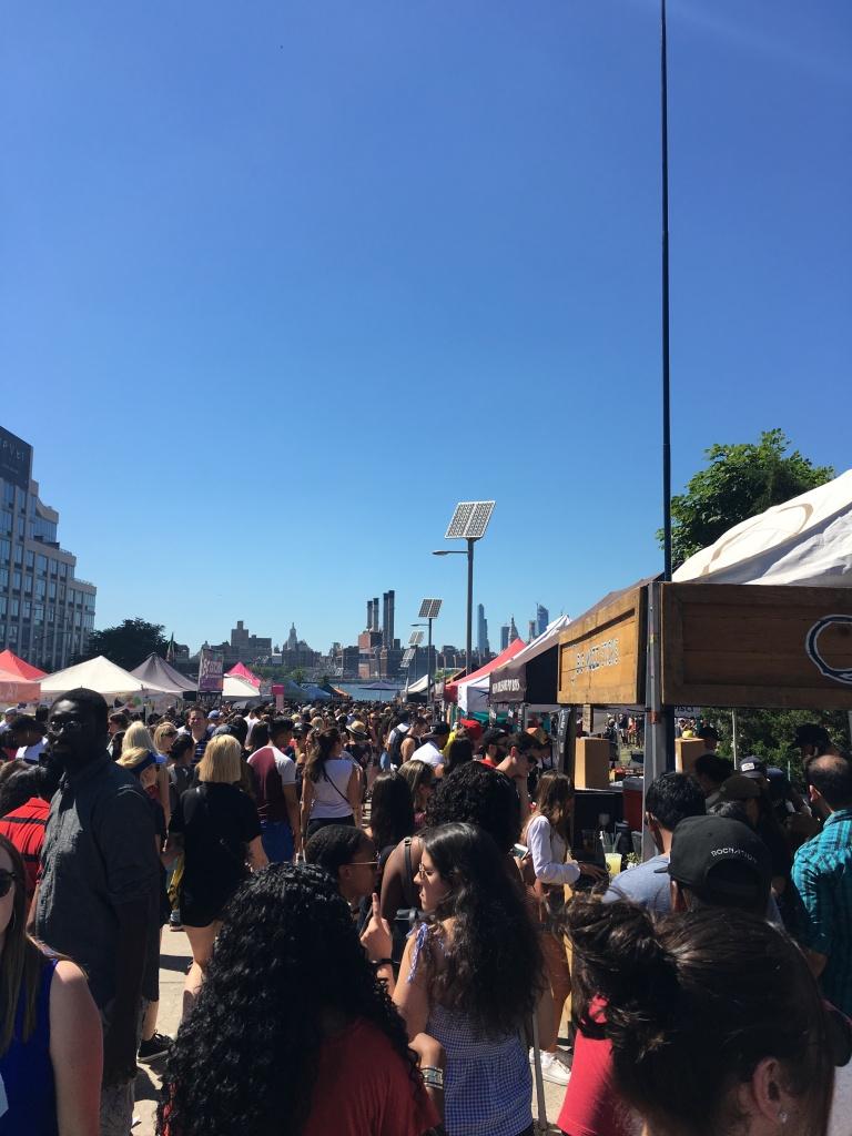 Smorgasburg food market.